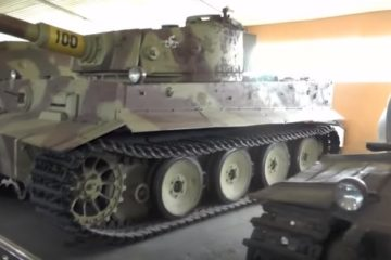 German Tanks in the Largest Tank Museum of the World in Russia