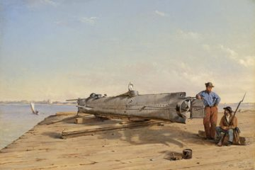 Raising of American Civil War submarine 1863 - Confederate Sub Wreckage