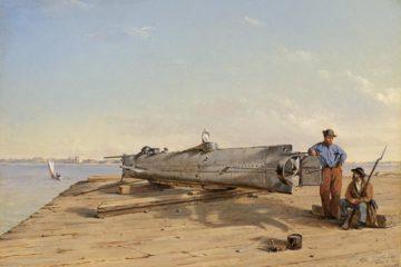 Raising of American Civil War submarine 1863 - Confederate Sub Wreckage