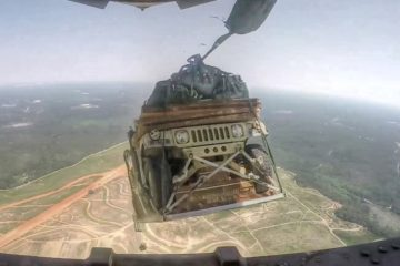 Watch an Amazing Humvee Airdrop from a C-17