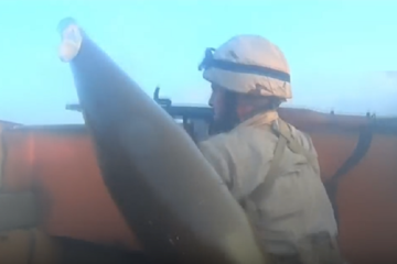 ISIS-Combat filmed from headcams