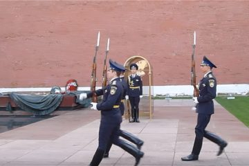 Changing of the guard at the Kremlin