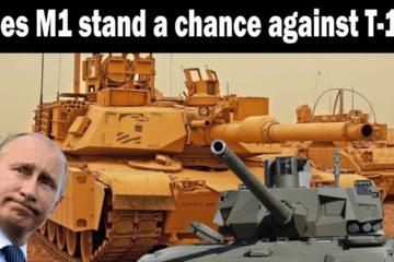 M1 Abrams against Russian T-14 Armata