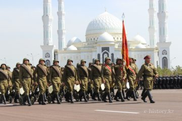 Parade in Kazakhstan
