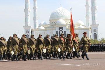 Parade in Kazakhstan