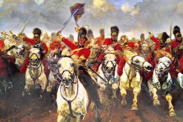"""The Charge of the Light Brigade was a charge of British light cavalry led by Lord Cardigan against Russian forces during the Battle of Balaclava on 25 October 1854 in the Crimean War. Lord Raglan, overall commander of the British forces, had intended to send the Light Brigade to prevent the Russians from removing captured guns from overrun Turkish positions, a task well-suited to light cavalry. However, there was miscommunication in the chain of command, and the Light Brigade was instead sent on a frontal assault against a different artillery battery, one well-prepared with excellent fields of defensive fire. They reached the battery under withering direct fire and scattered some of the gunners, but they were forced to retreat immediately. Thus, the assault ended with very high British casualties and no decisive gains. The events were the subject of Alfred, Lord Tennyson's narrative poem """"The Charge of the Light Brigade"""" (1854), published just six weeks after the event. Its lines emphasise the valour of the cavalry in bravely carrying out their orders, regardless of the obvious outcome. Blame for the miscommunication has remained controversial, as the original order itself was vague, and the officer who delivered the written orders with some verbal interpretation died in the first minute of the assault."""