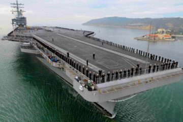 A Tour of the USS Ronald Reagan