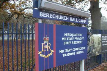 Military Correction Training Centre (MCTC) in Colchester, Essex.