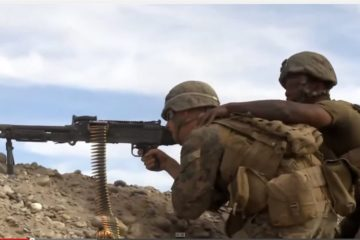 U.S Marines Repel Taliban Attack against their Patrol Base