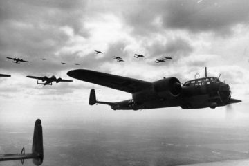 Unique Footage WWII Axis Powers Aircraft Seconds Before Disaster