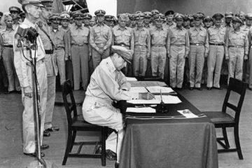 Battlefield Finale! Japanese Sign Final Surrender Sep 2 1945!