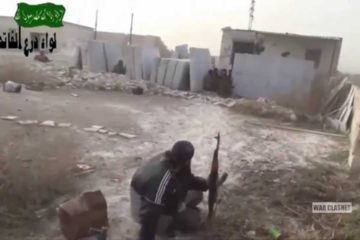 Fighting in Maliha Syria