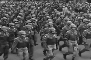 Newsreel 82nd Airborne Victory Parade 5th Ave , NYC WW2