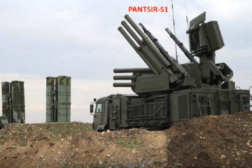The Pantsir S1 missile system is a self-propelled surface-to-air missile system.