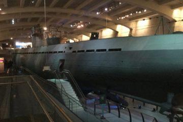 WW2 German Submarine U-505