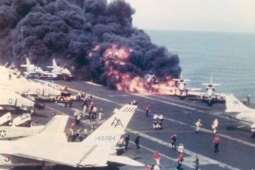 US Aircraft Carrier Disaster 29 July 1967 – USS Forrestal Documentary — Draft