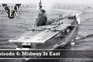Midway is east