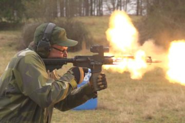 AR-15 Meltdown
