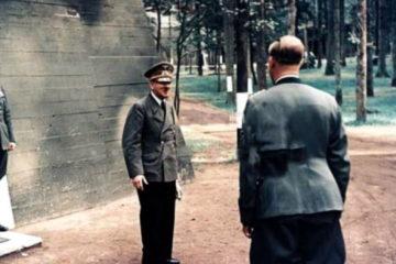 Adolf Hitler's Bunkers in Wolfsschanze during WWII
