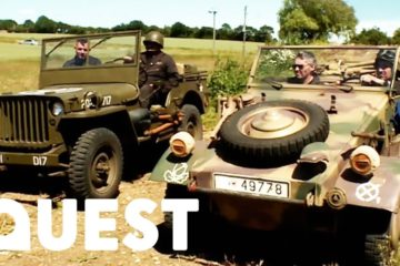 American Jeep Vs German Kubelwagen
