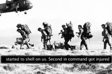 Gurkhas in the Falklands War