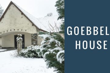 Joseph Goebbels : Third Reich WW2 - House & Bunker Today