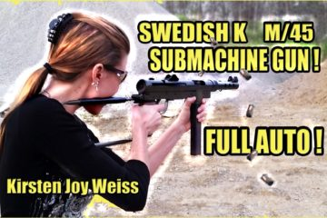 Swedish Carl Gustav , M/45 Submachine Gun
