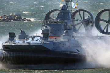 The Russian Zubr-Class Military Hovercraft
