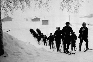 The Winter War between Soviet Union and Finland