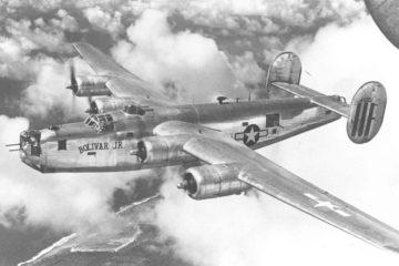 B-24 Liberators Over Europe WW2 : Documentary 1945