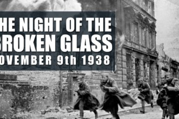 Kristallnacht – The Night of Broken Glass 9 Nov 1938