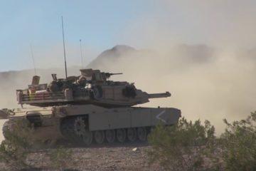 M1 Abrams Battle Tanks Firepower Demonstration ● Heavy Live Fire Range