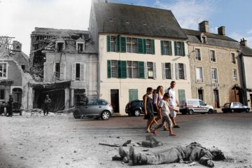 Normandy - Then and now