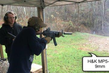 est Fire of 43 Machine Guns - One Take