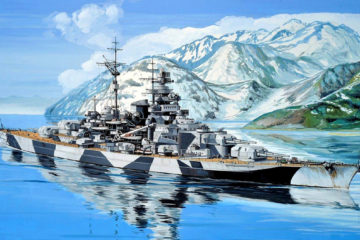 KMS Tirpitz - The Lonely Queen of the North