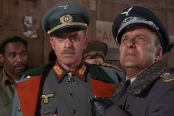 Hogan must reverse course when efforts to make Klink look competent before the Nazi Inspector General get the Kommandant promoted with a transfer to Berlin.