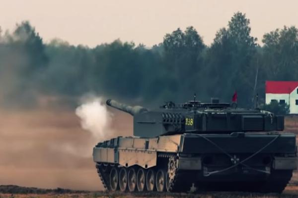 Leopard-Tanks