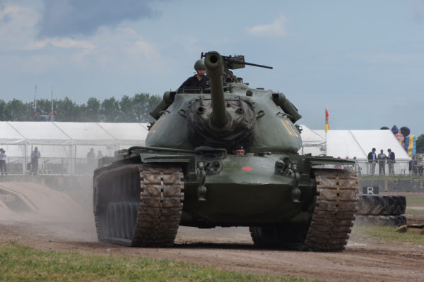 The M103 Heavy Tank (initially T43) served in the United States Army and the United States Marine Corps.