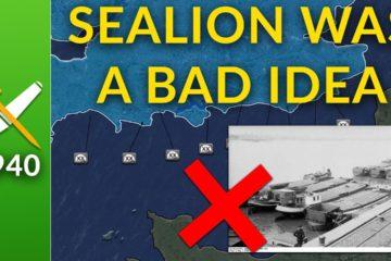 Operation Sealion: Actually a Bad Idea