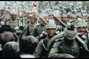 Rare German Footage from WW1