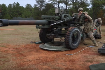 US Airborne Artillery compete in 2018 Best of Best Competition