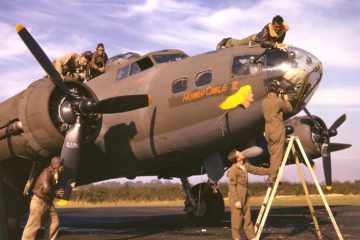 Allied Bombers in Color WW2