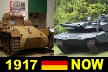 Evolution Of German Tanks (1917 - 1998)