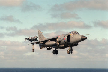 Harriers in the Falklands War