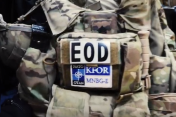 KFOR EOD Teams Train with Kosovo Police