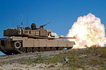 Zeroing the Weapons Systems on US M1 Abrams Tanks