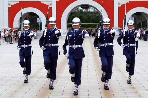 Changing of the Guards Taipei, Taiwan