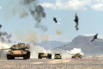 Deadly Tank Killer in Action: A-10 30mm GAU-8 Gatling Gun & CBU-105 Cluster Bombs Destroy Tanks