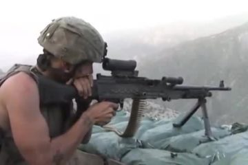 Firefight at Outpost Restrepo : Afghanistan