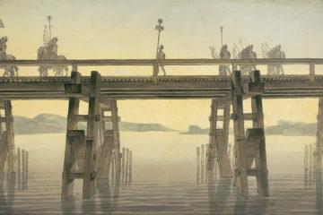 Julius Caesar Crossing the Rhine
